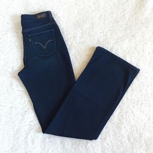 Levi's 512 Perfectly Slimming Dark Bootcut Jeans